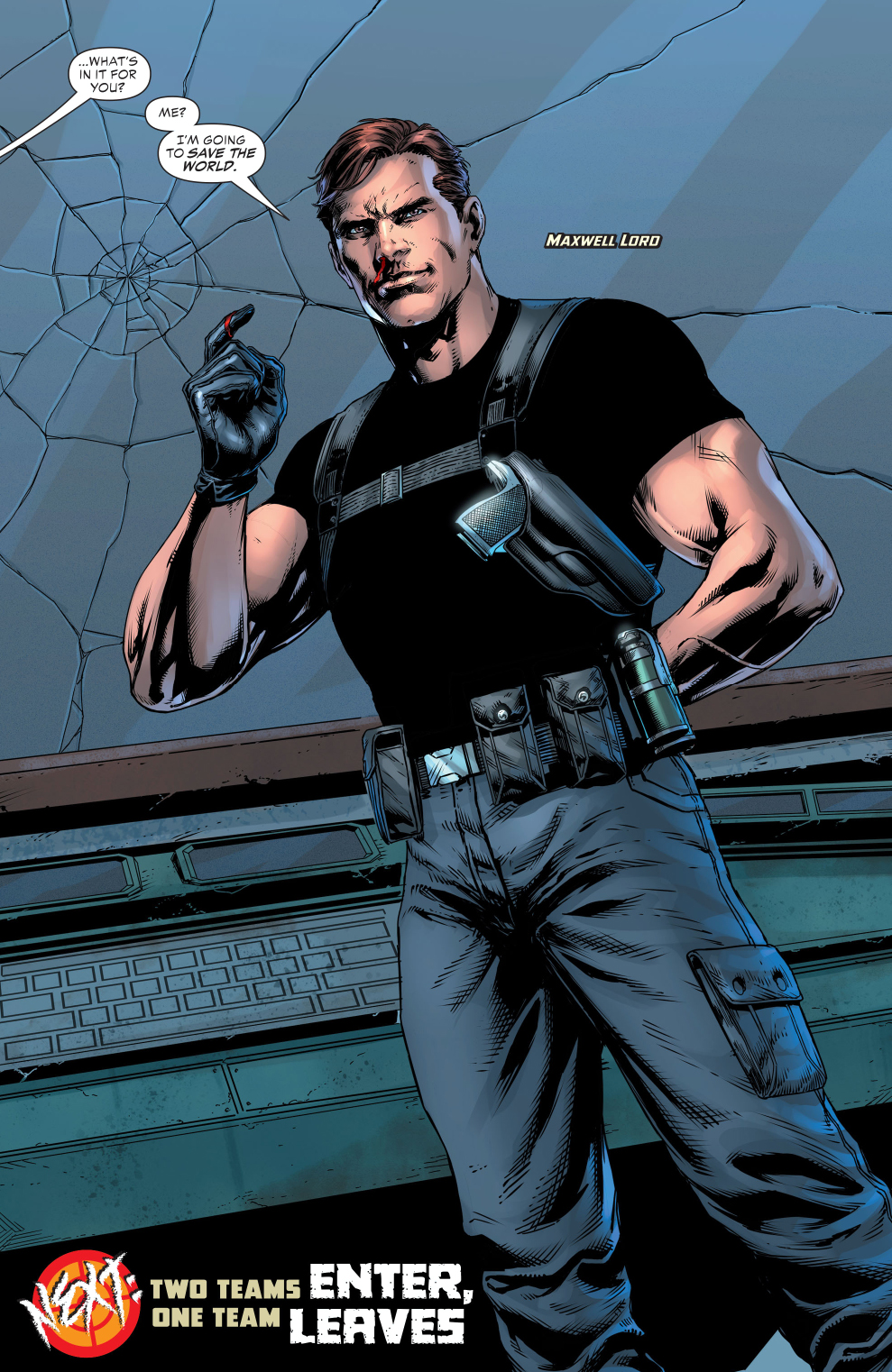 Maxwell Lord (Justice League VS Suicide Squad)