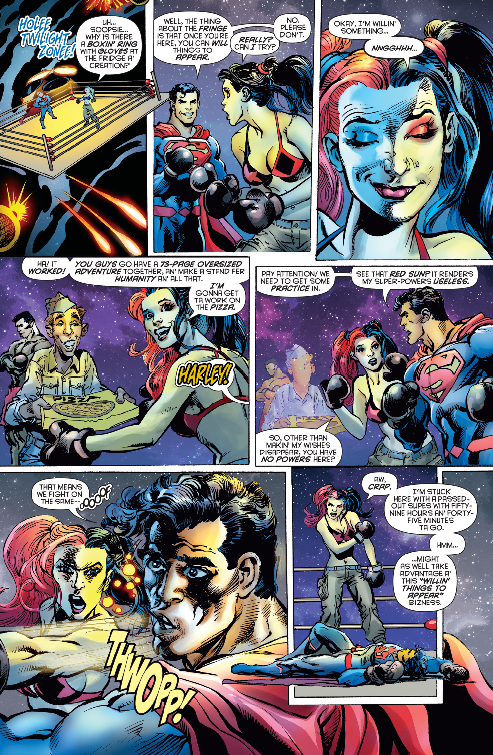 harley-quinn-knocks-out-superman