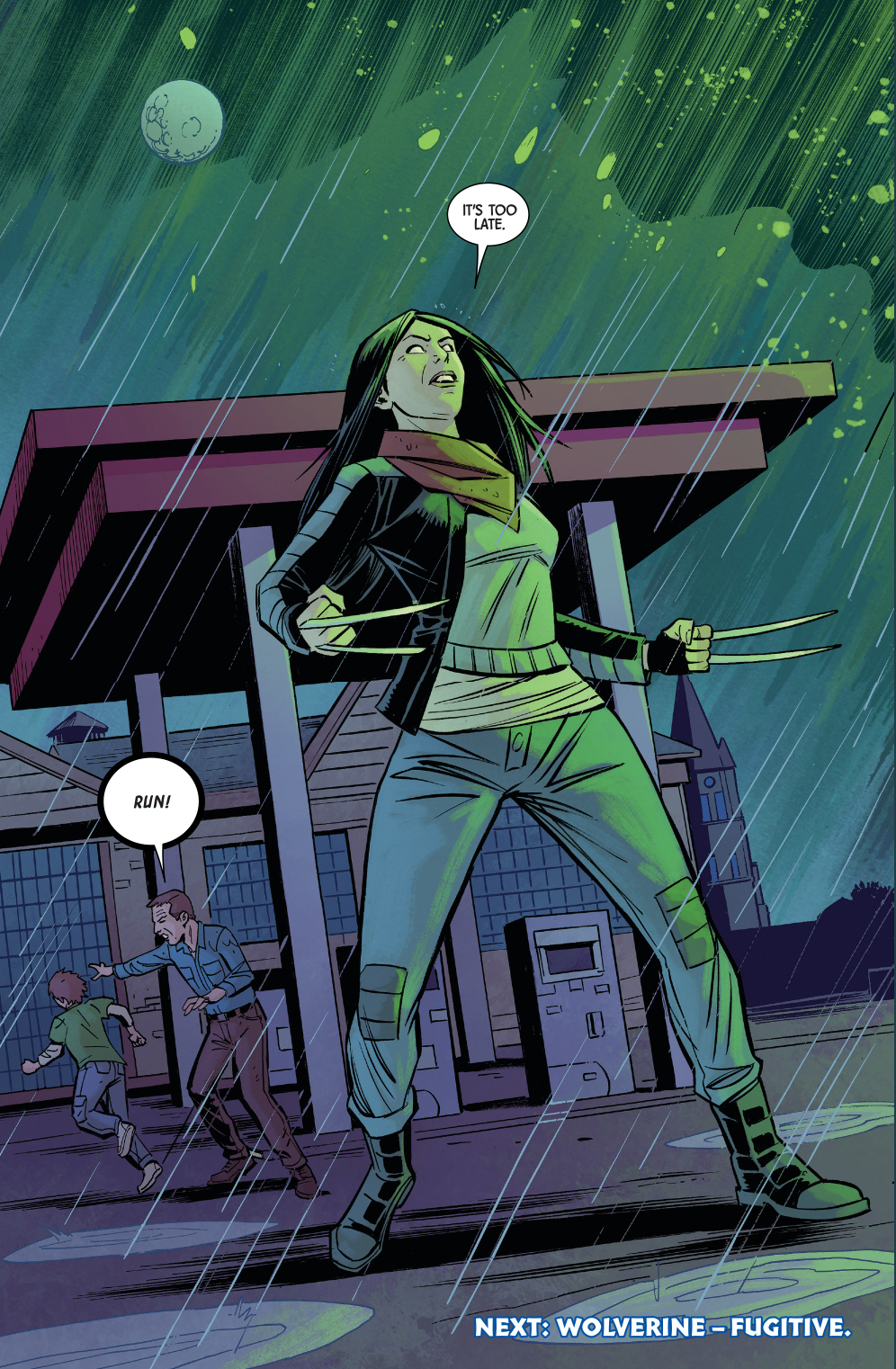 All New Wolverine Slaughters An Entire Town