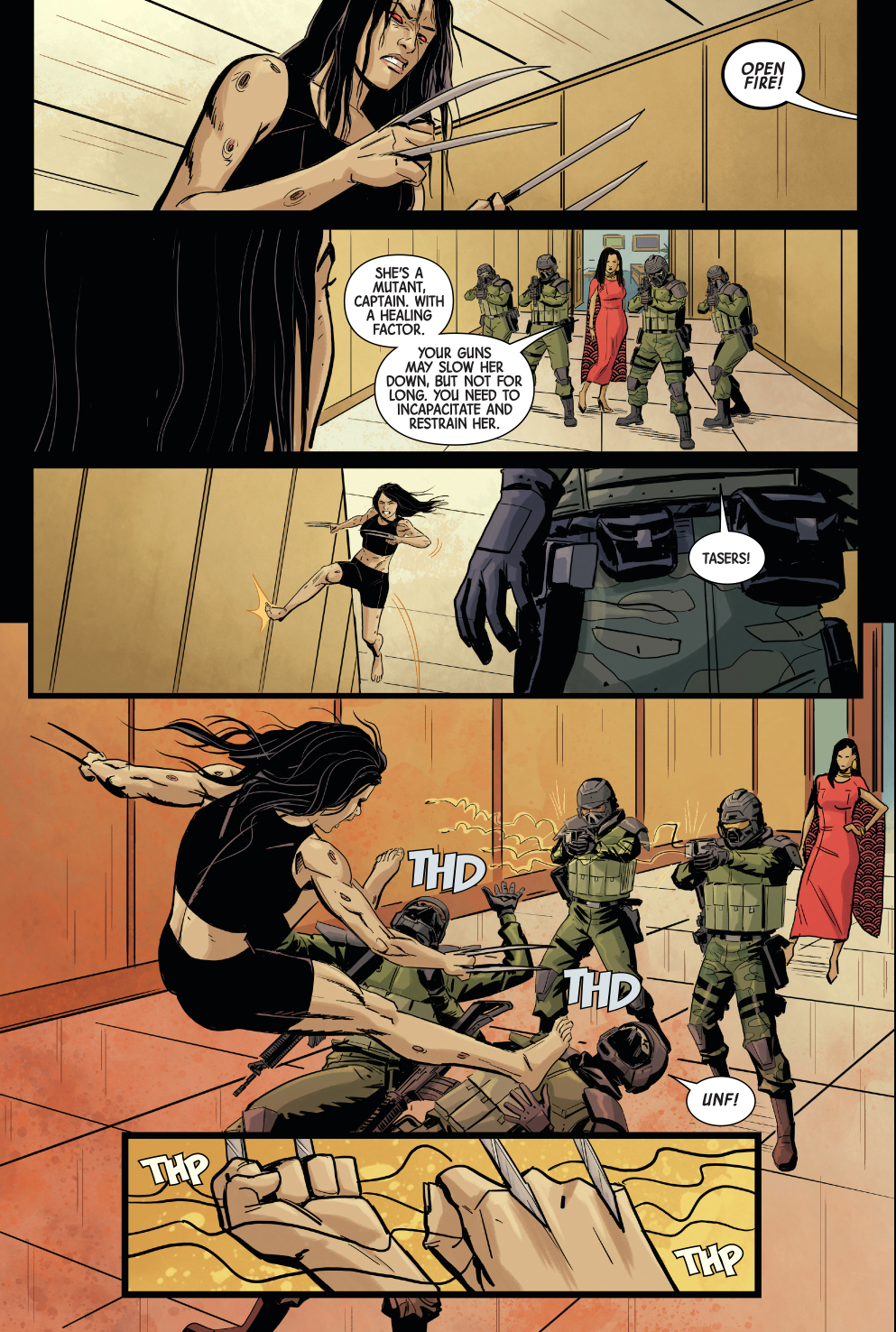 All New Wolverine Tries To Assassinate Tyger Tiger