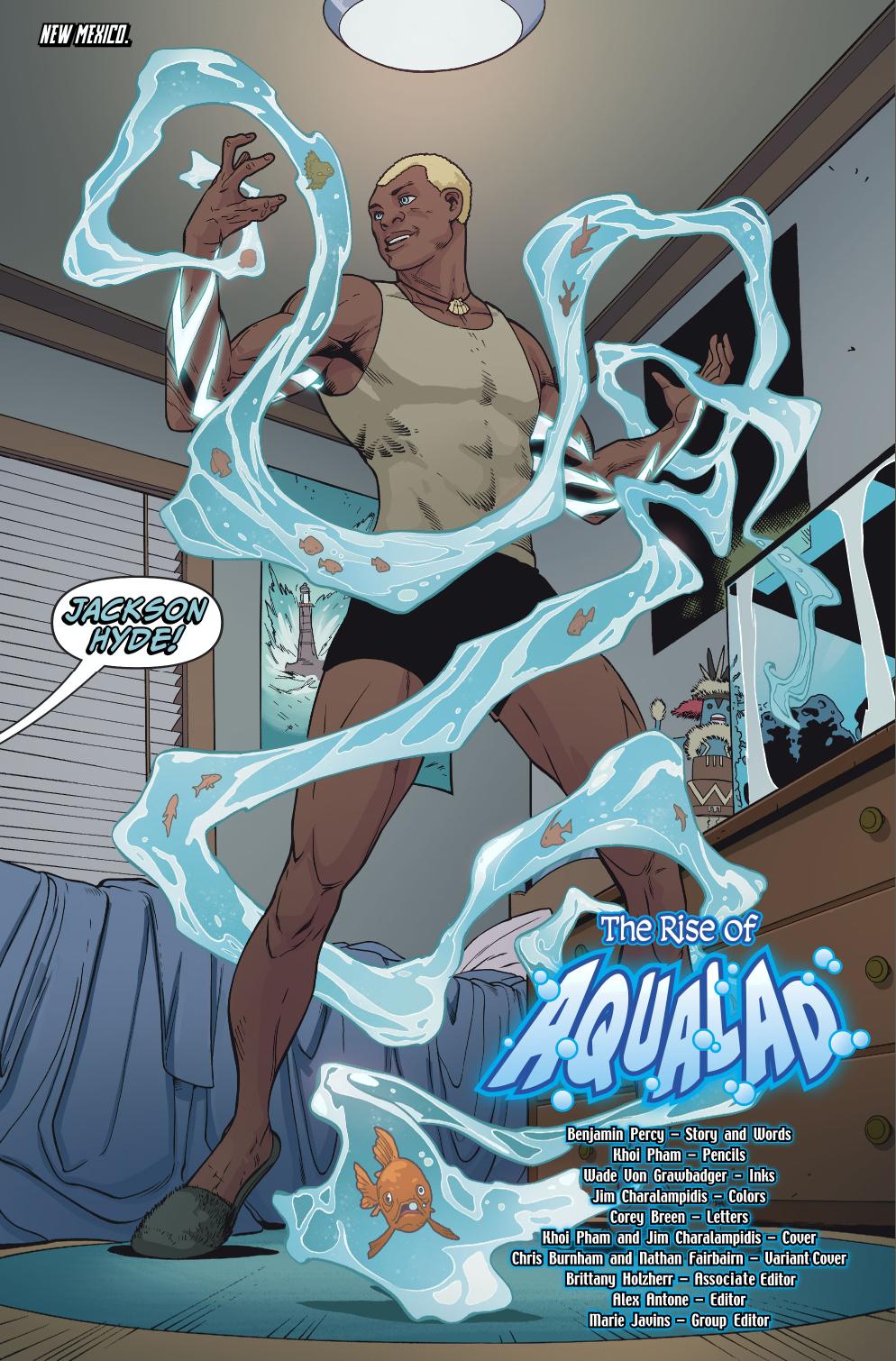 Aqualad (Teen Titans Vol. 6 #6)