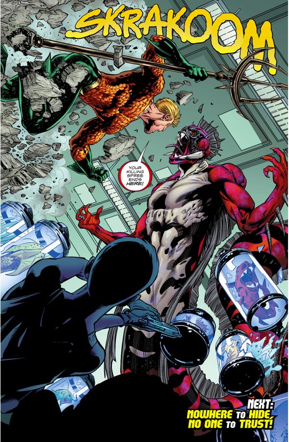 Aquaman And Mera VS Dead Water (Rebirth)