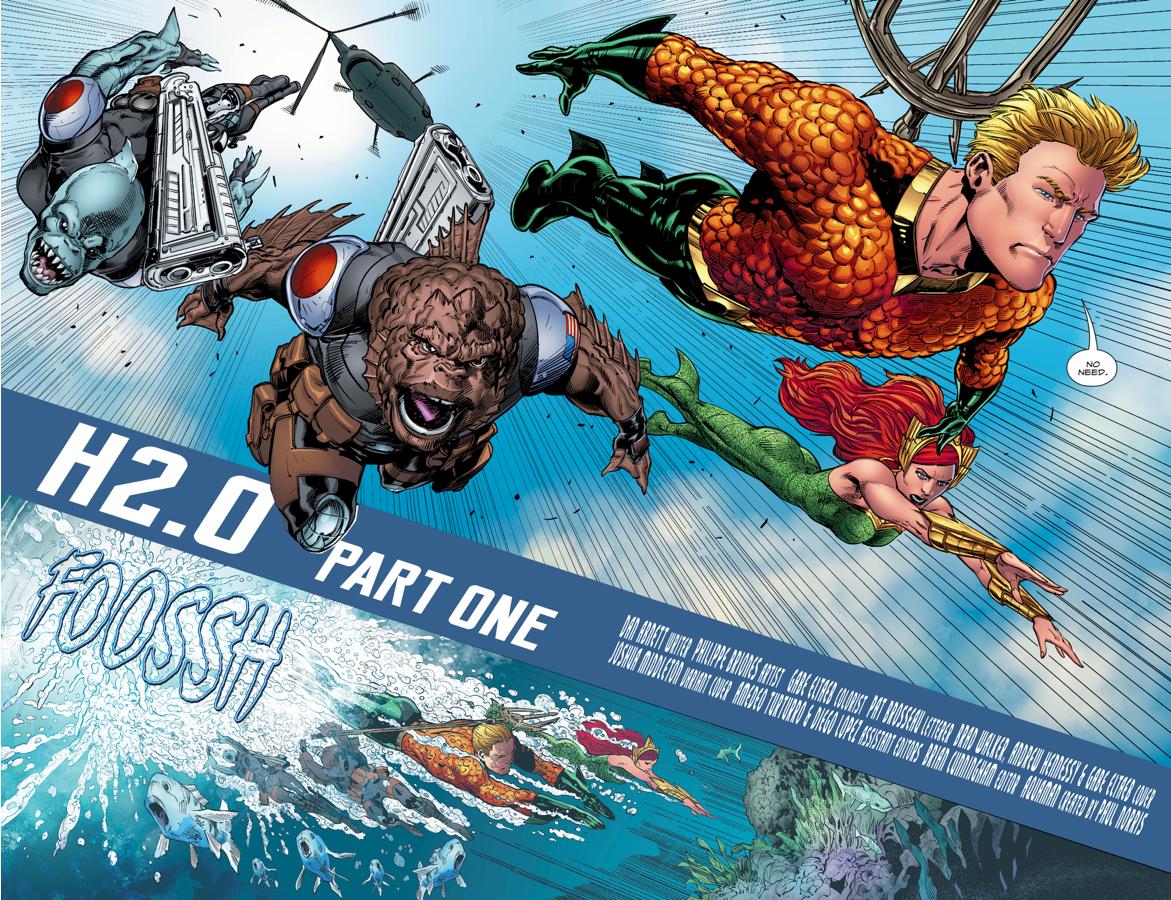 Aquaman And The Aquamarines