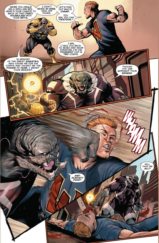 Arkillo One Punches Guy Gardner
