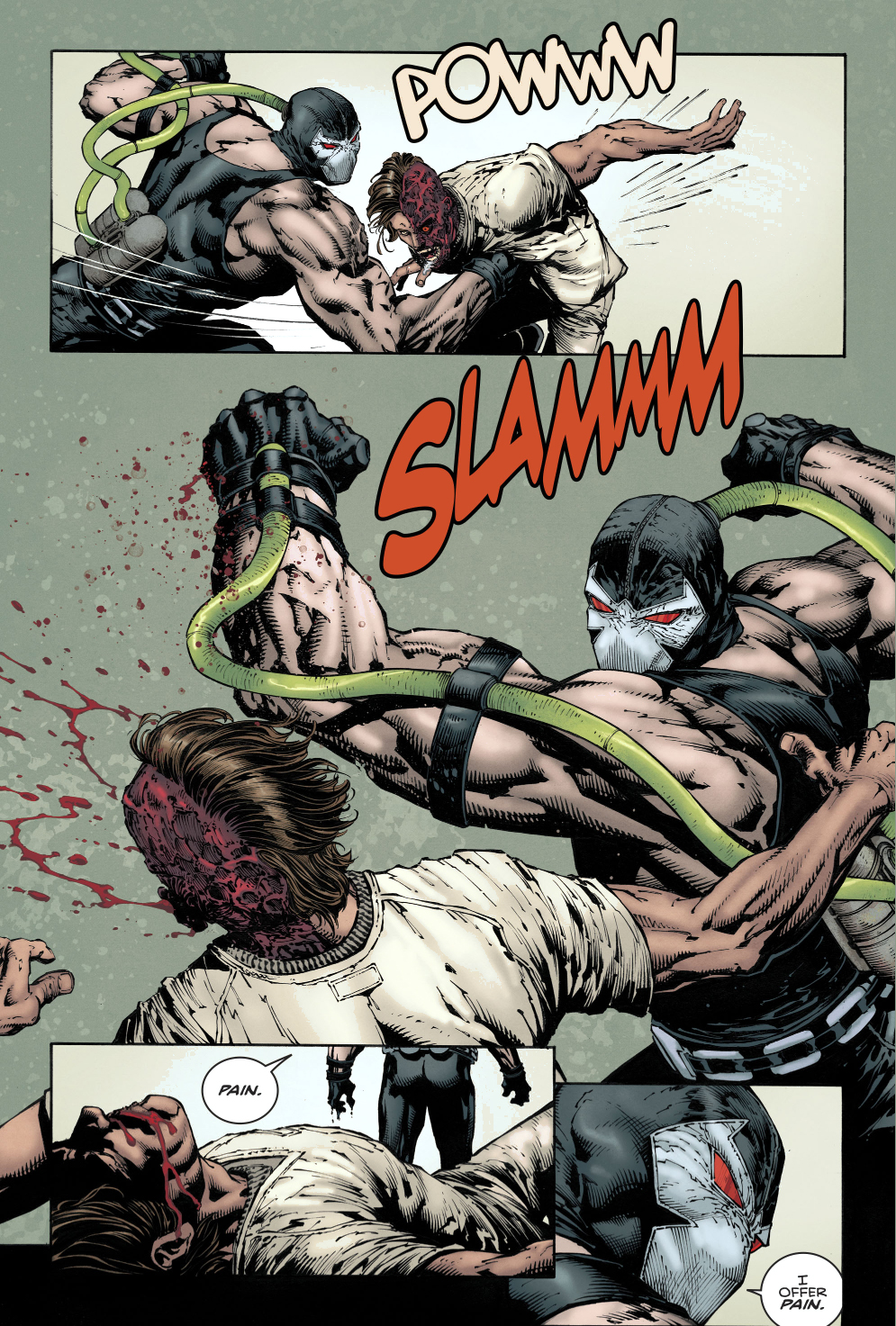 Bane Takes Down Two-Face (Rebirth)
