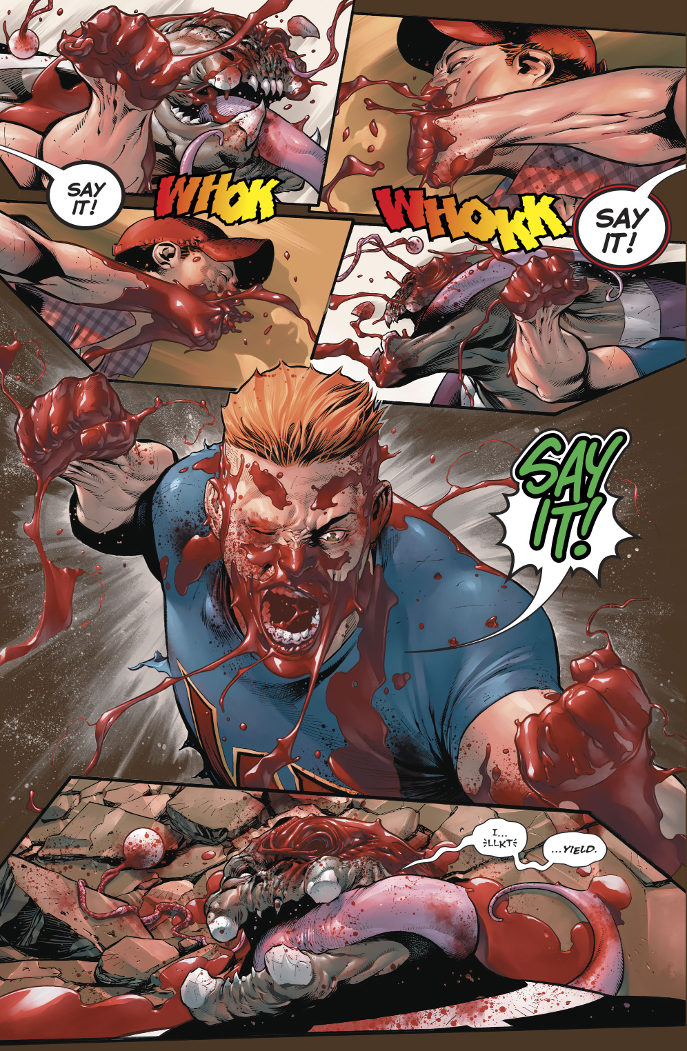 Guy Gardner VS Arkillo (Rebirth)