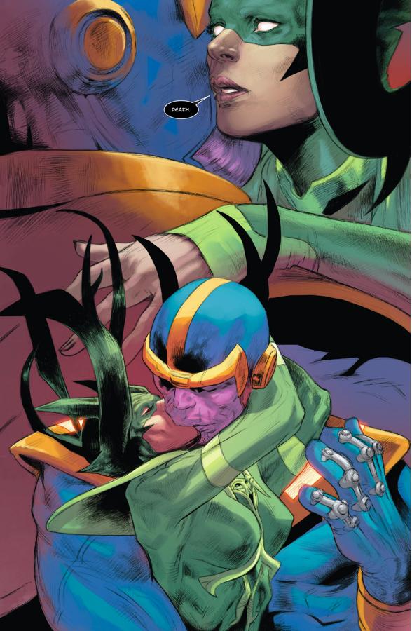 Hela Kisses Thanos