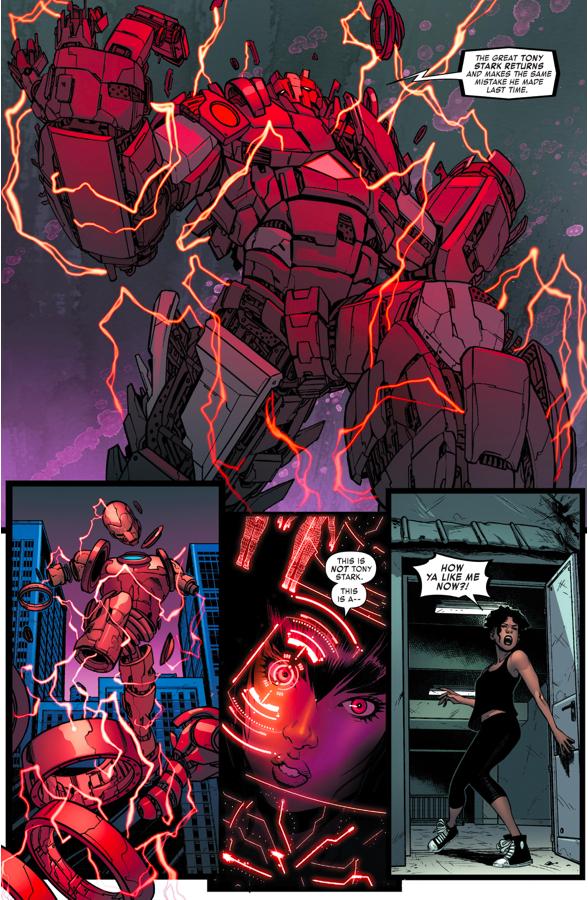 How Ironheart Defeated The Techno Golem