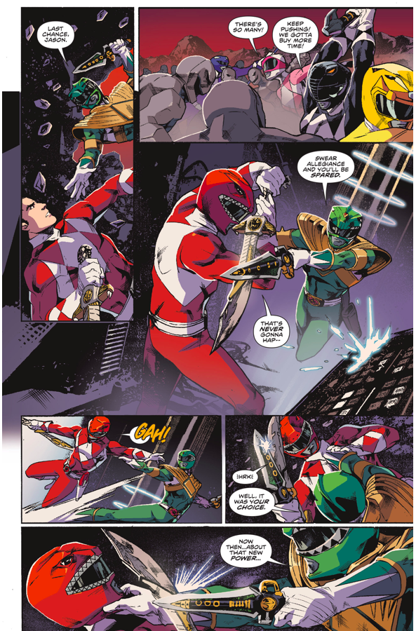 How Tommy Oliver Became Lord Drakkon