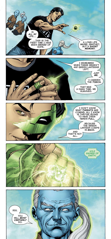 Kyle Rayner Returns To The Green Lantern Corps