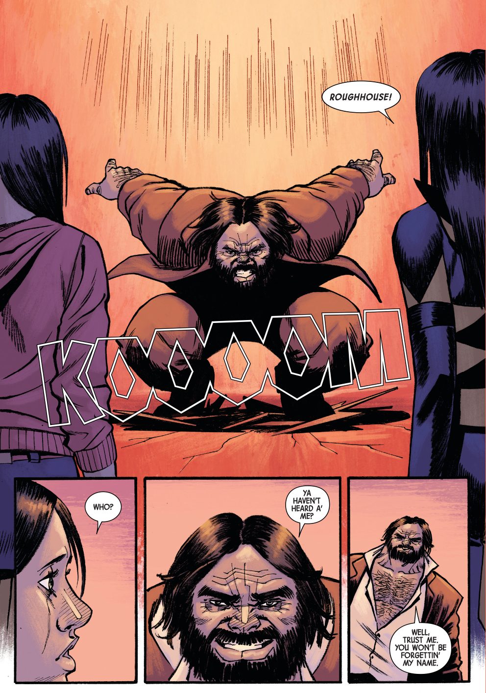 Roughhouse (All New Wolverine Vol. 1 #15)