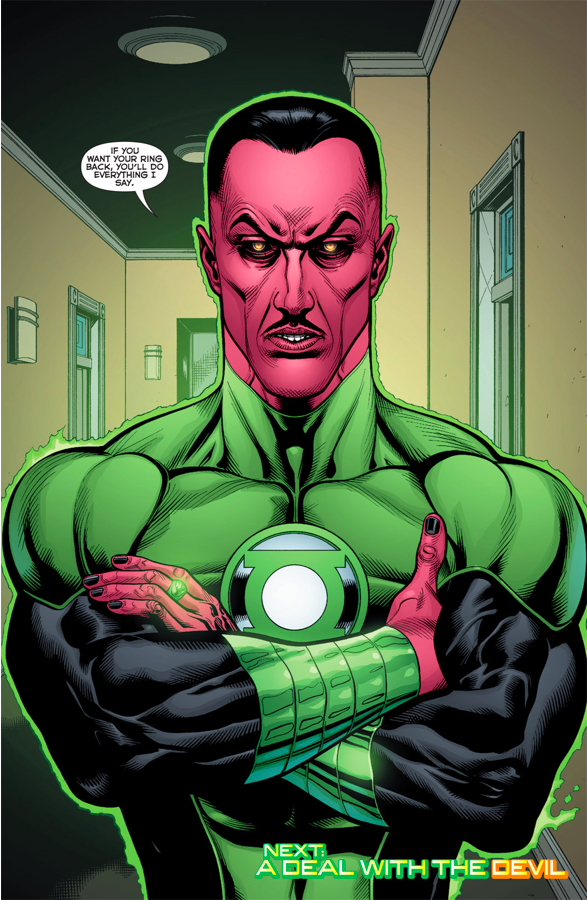 Sinestro (Green Lantern Vol. 5 #1)