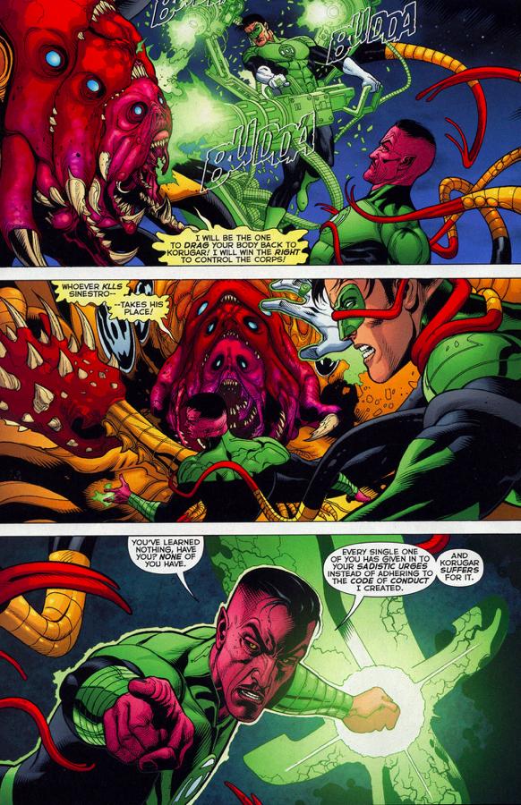 Sinestro Kills Sinestro Corps Member Gorgor