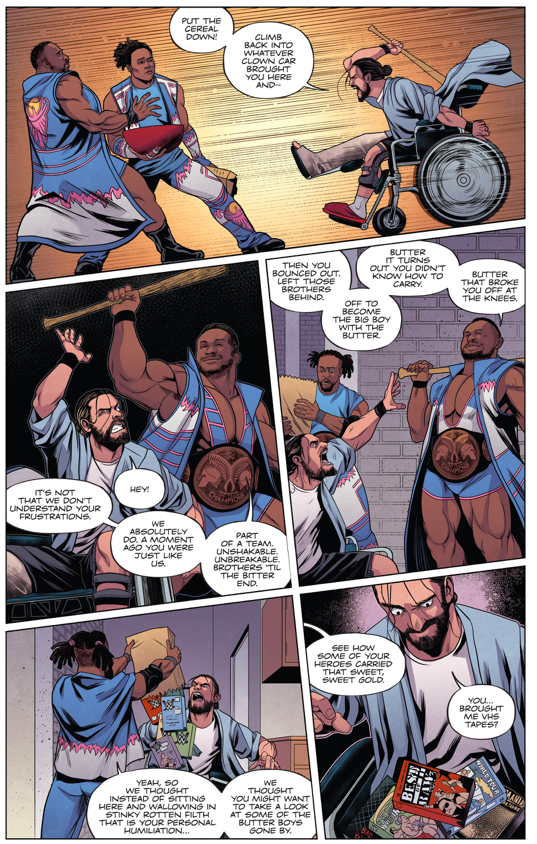 The New Day Cheers Up Seth Rollins