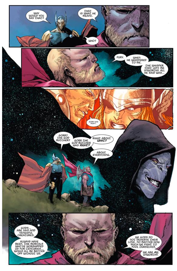 What Made Thor Unworthy