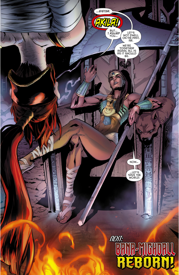 Akila (Red Hood And The Outlaws #9) 1