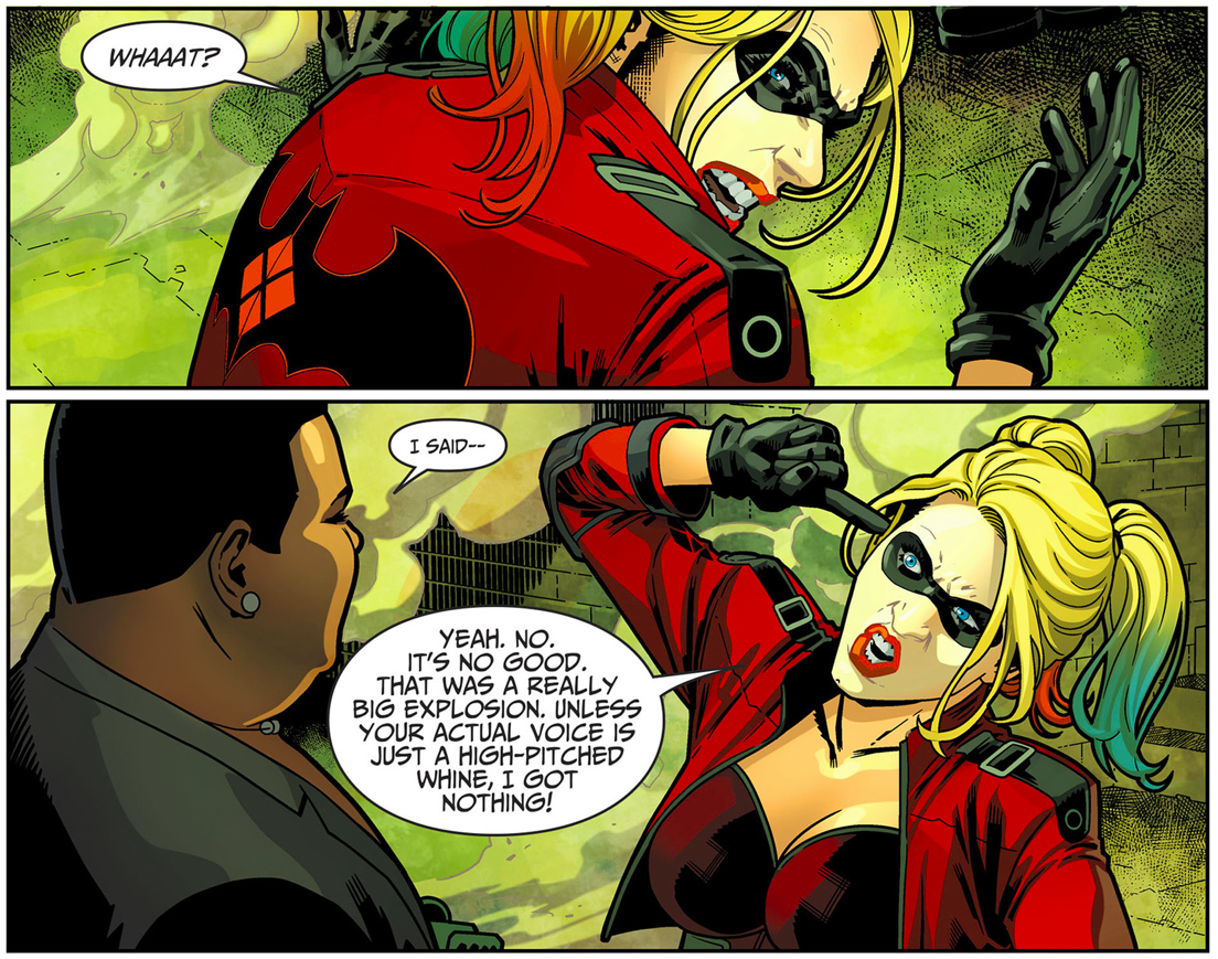 Amanda Waller Makes Harley Quinn Join The Suicide Squad (Injustice Gods Among Us II)