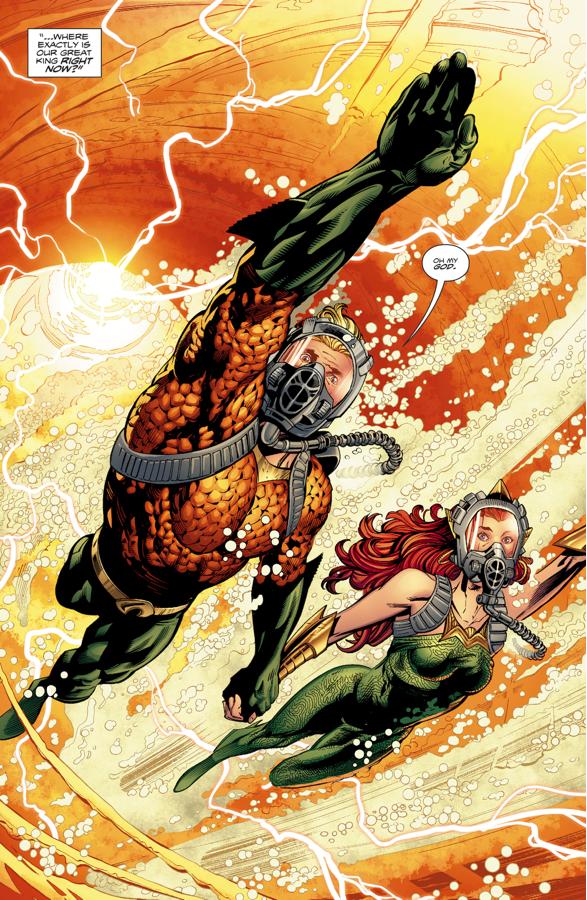 Aquaman And Mera (Aquaman Vol. 8 #21)