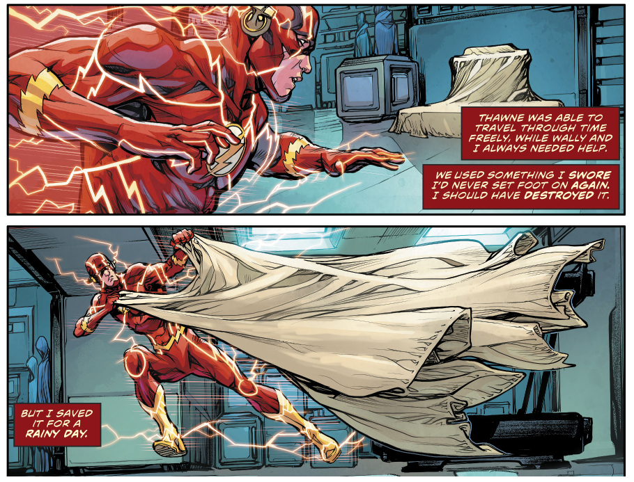 Batman And The Flash Time Traveling