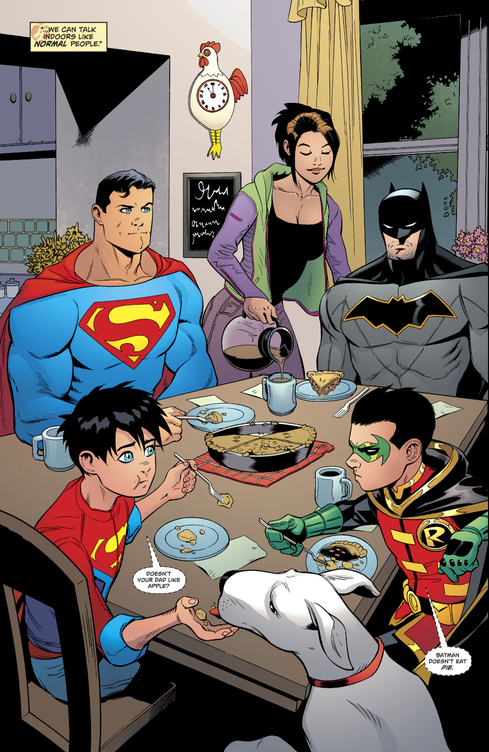 Batman Doesn't Eat Pie