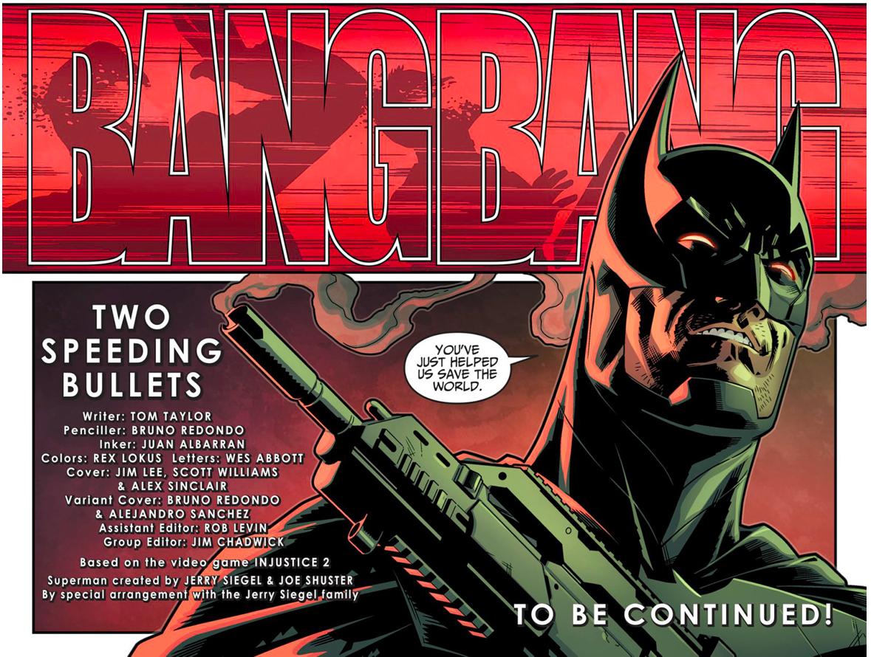 Batman Kills Amanda Waller And Rick Flag (Injustice II)