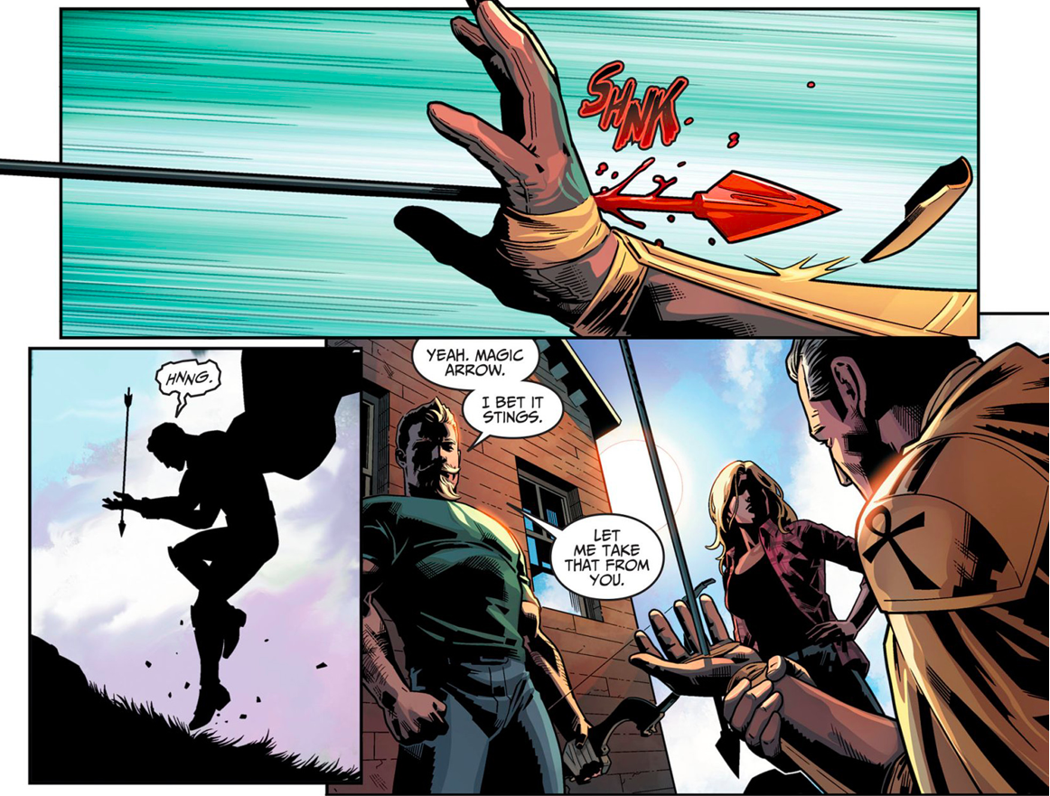 Green Arrow And Black Canary VS Doctor Fate (Injustice Gods Among Us II)