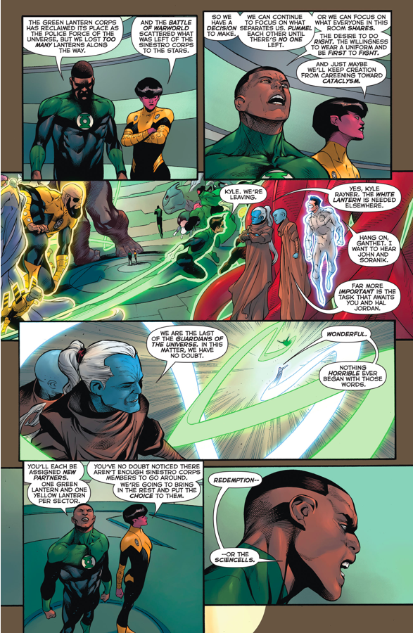 Green Lantern Corps And Sinestro Corps Join Forces