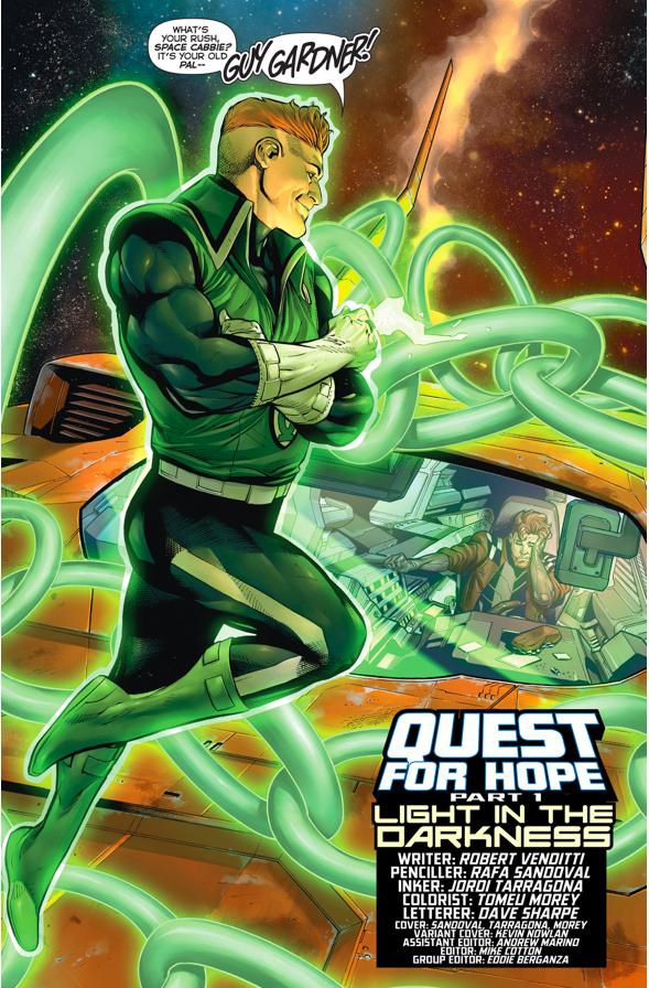Guy Gardner (Hal Jordan And The Green Lantern Corps #14)