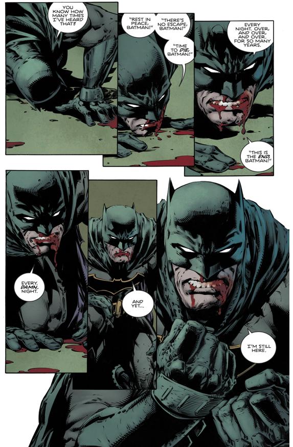 How Batman Defeated Bane (Rebirth)
