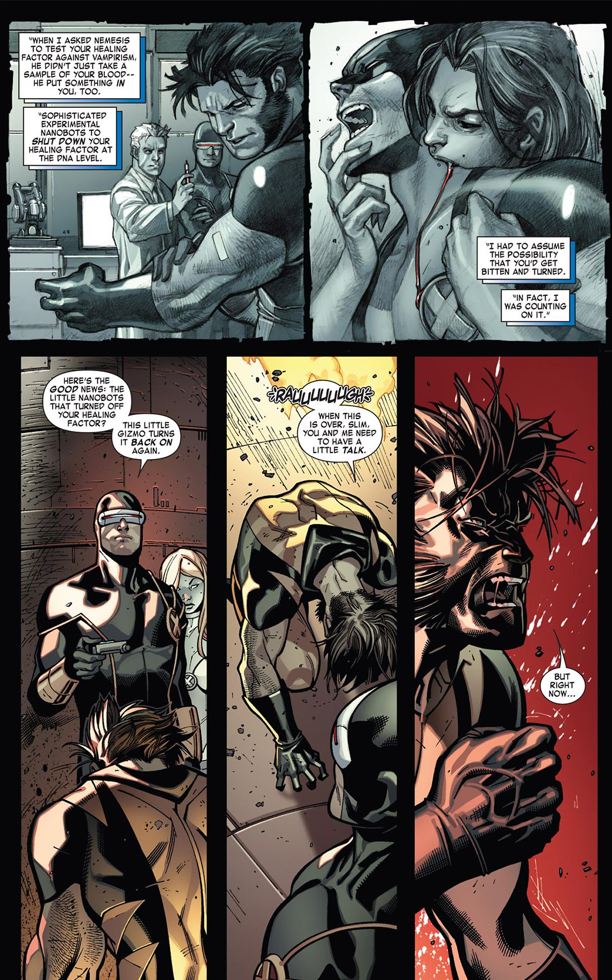 How Cyclops Cured Vampire Wolverine