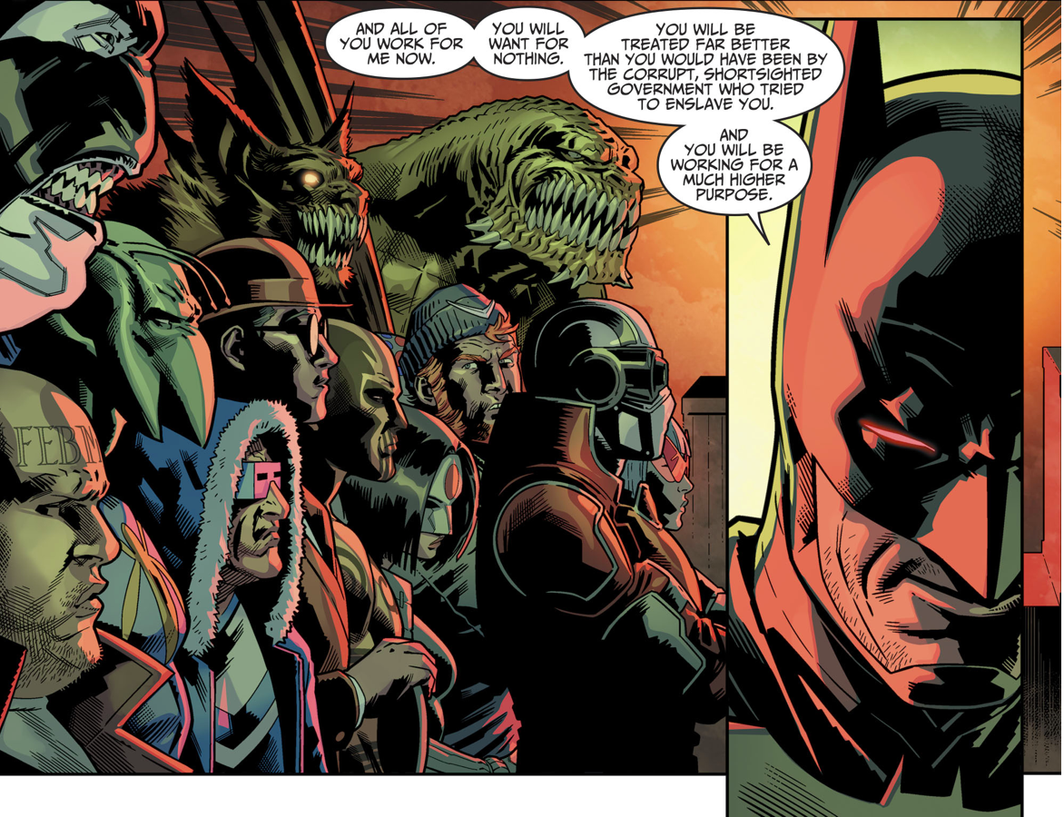 How Fake Batman Took Over The Suicide Squad (Injustice II)