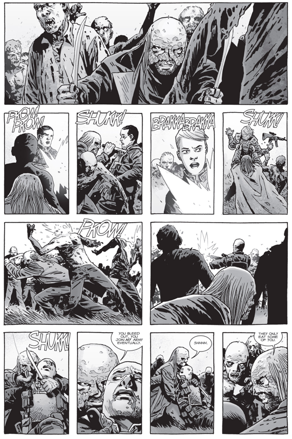 Negan Saves Dwight (The Walking Dead)