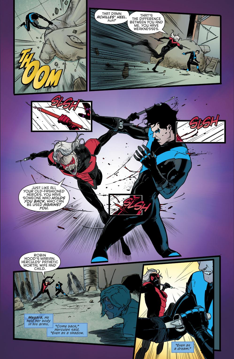 Nightwing VS Deathwing (rebirth)