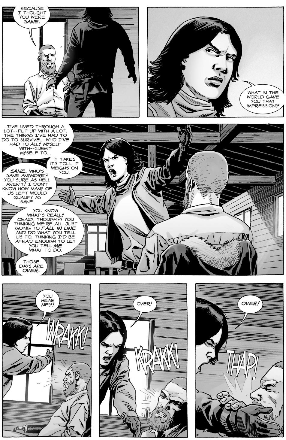 Rick Grimes Kills Sherry (The Walking Dead)