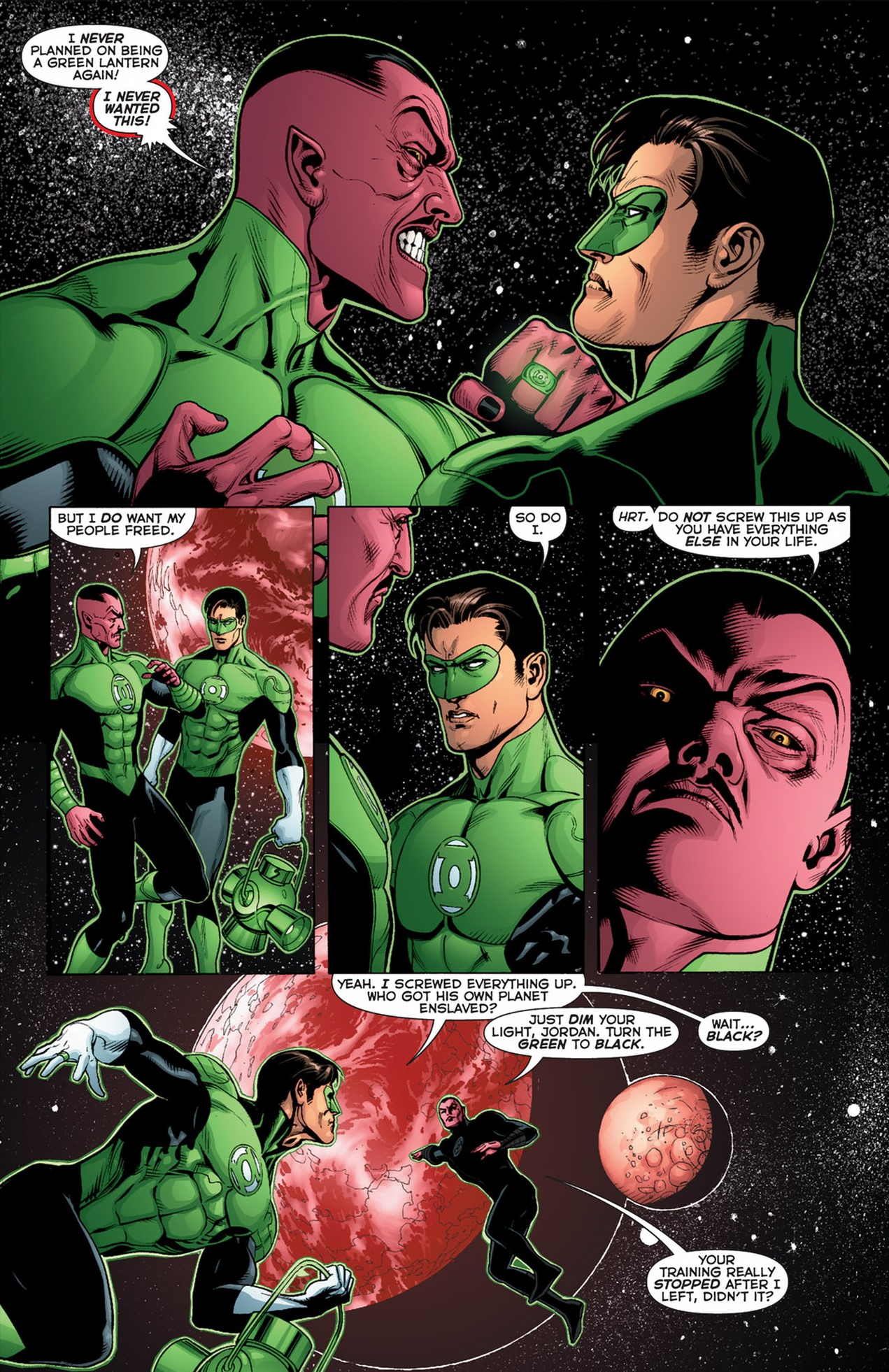 Sinestro's Fail Safe For The Sinestro Corps