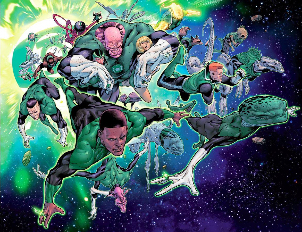 The Green Lantern Corps (Hal Jordan And The Green Lantern Corps #1)