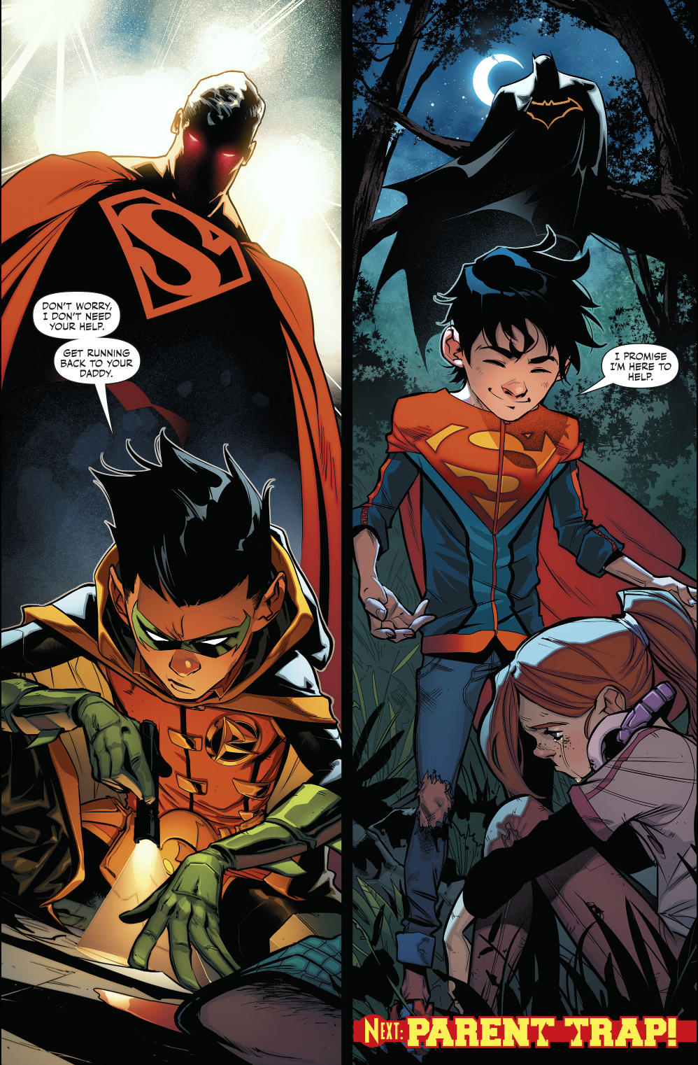 World's Finest And Super Sons