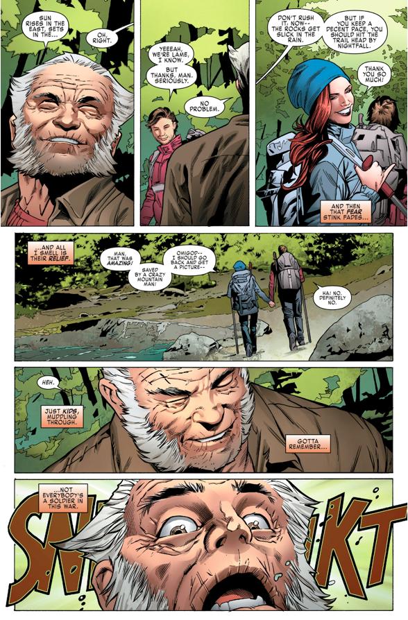 Adamantium Cyborgs Ambush Old Man Logan