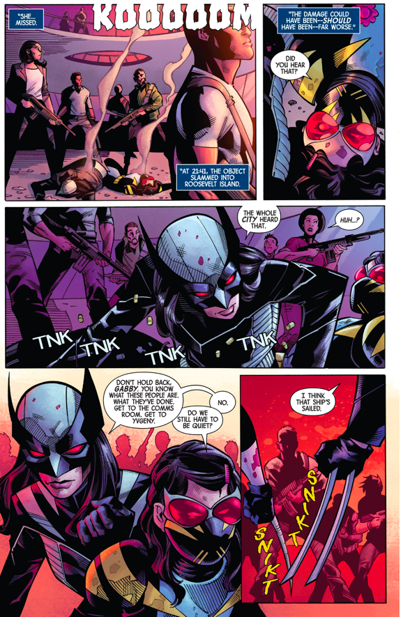 All New Wolverine And Gabrielle VS Human Traffickers