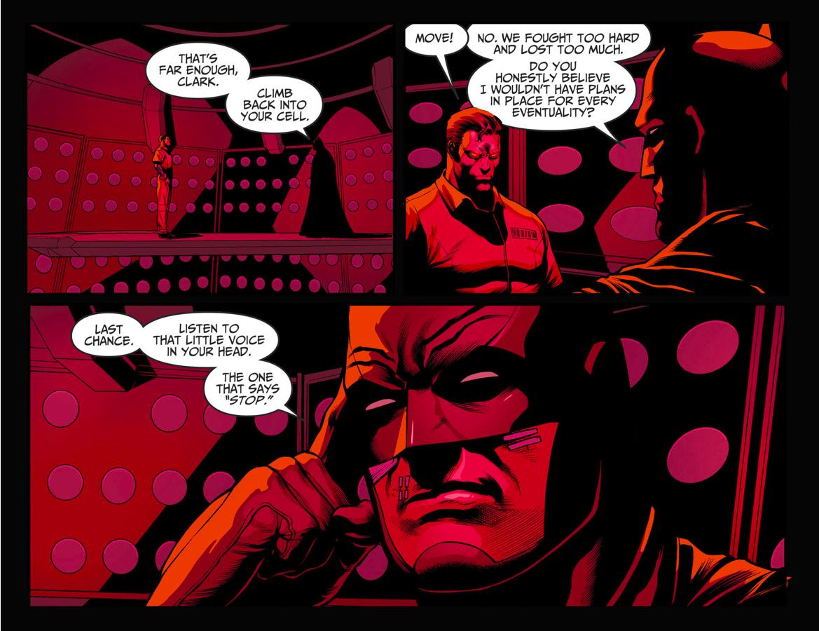 Batman's Contingency Against Superman (Injustice II)