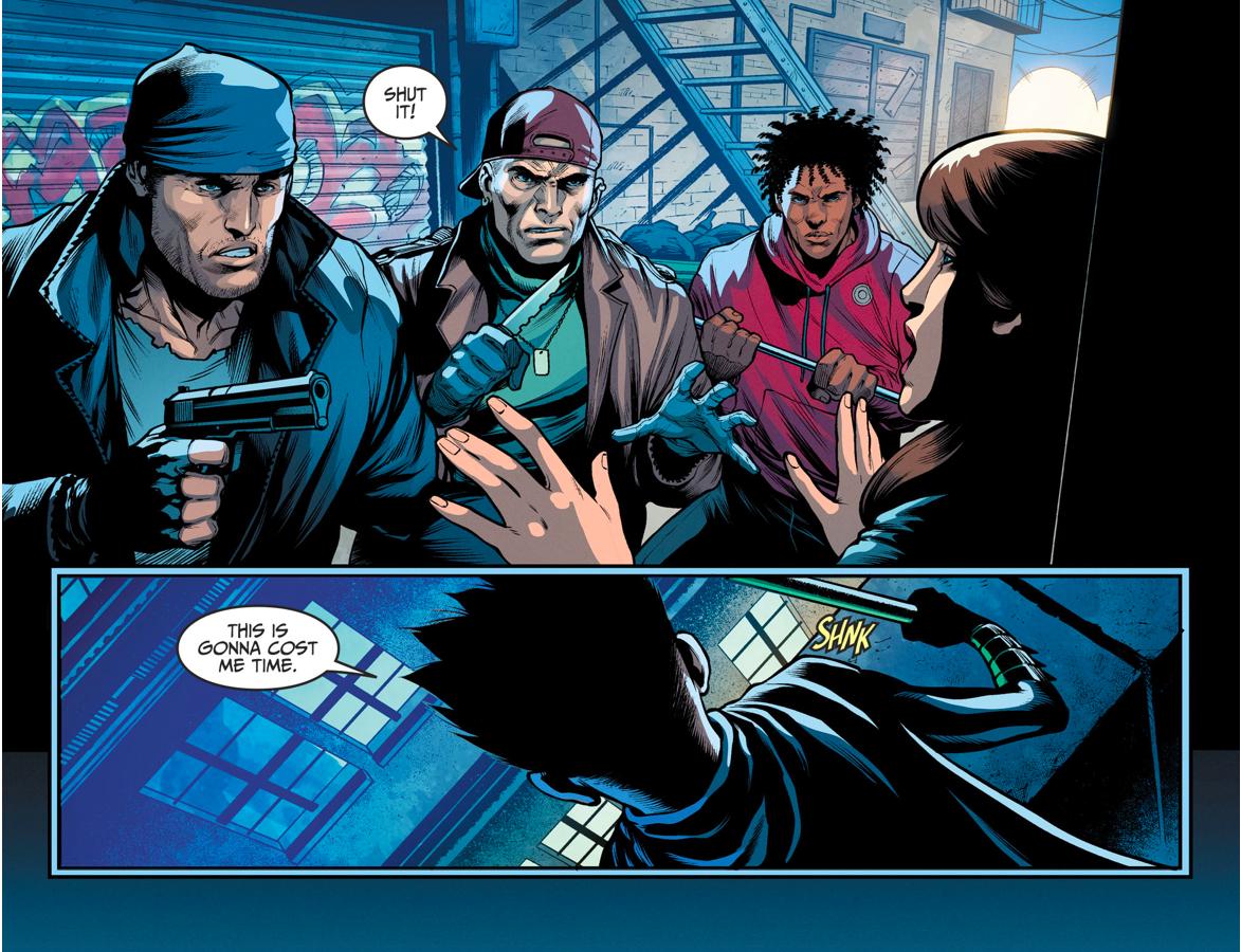 Damian Wayne Takes Batman's Trial (Injustice II)