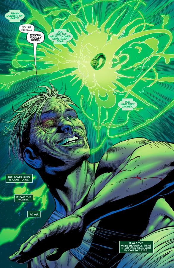 Frank Laminski Was Almost Chosen As A Green Lantern