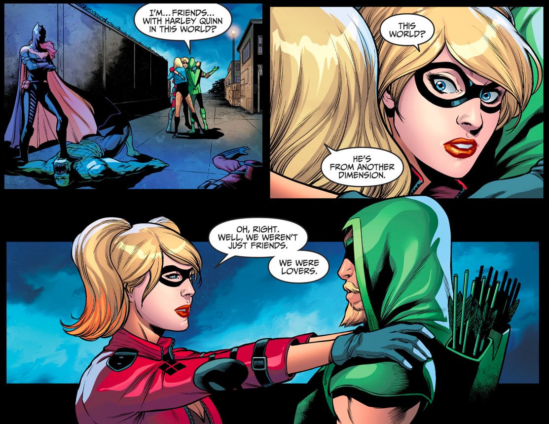 Harley Quinn And Green Arrow Were Lovers? (Injustice II)
