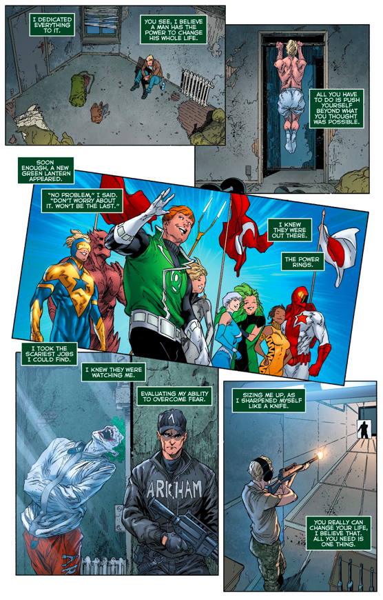 How Frank Laminski Trained To Be A Green Lantern