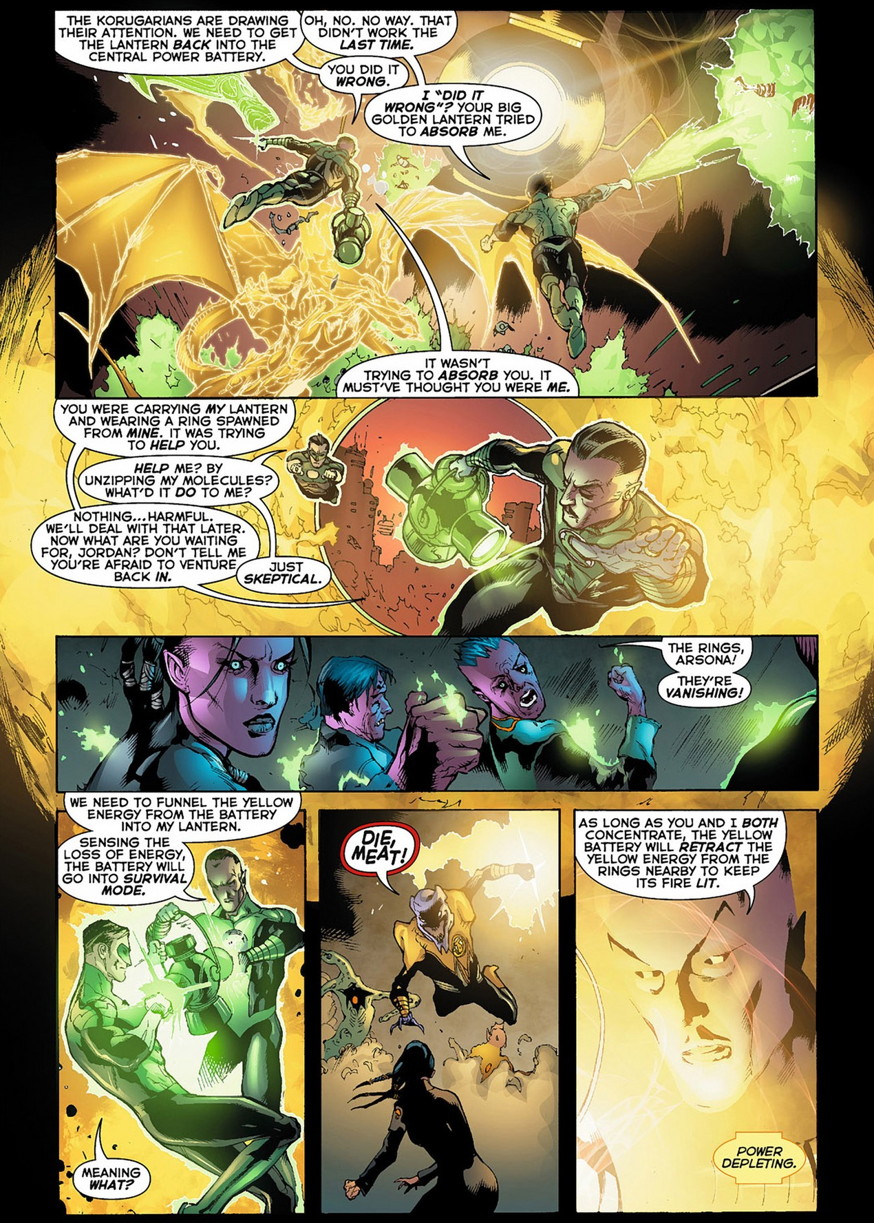 How Sinestro Took Down The Entire Sinestro Corps