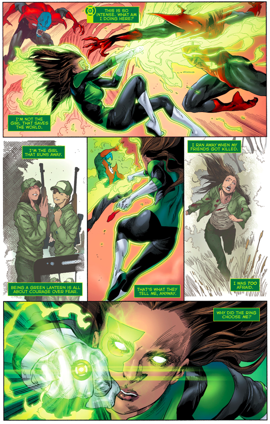 Jessica Cruz And Simon Baz VS The Red Lantern Corps