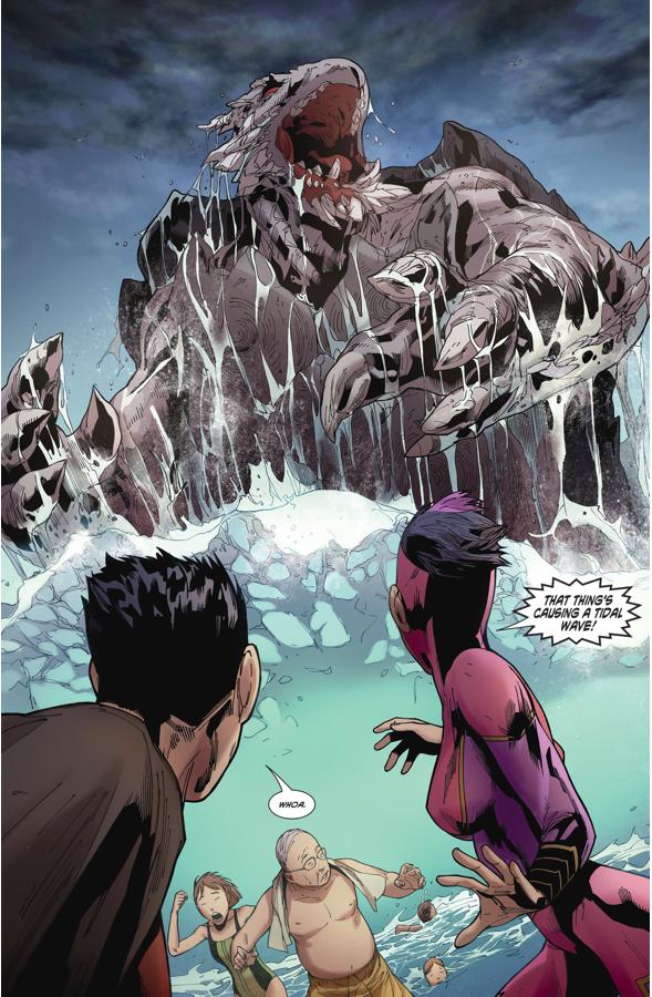Justice League Of China VS Sorcerer Monk Fahai