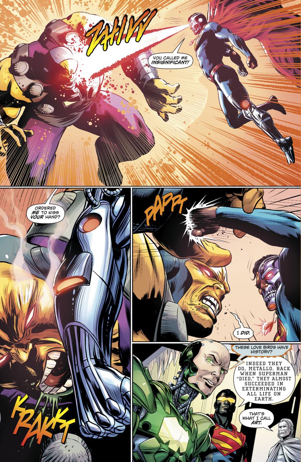 Mongul VS Cyborg-Superman (Rebirth)