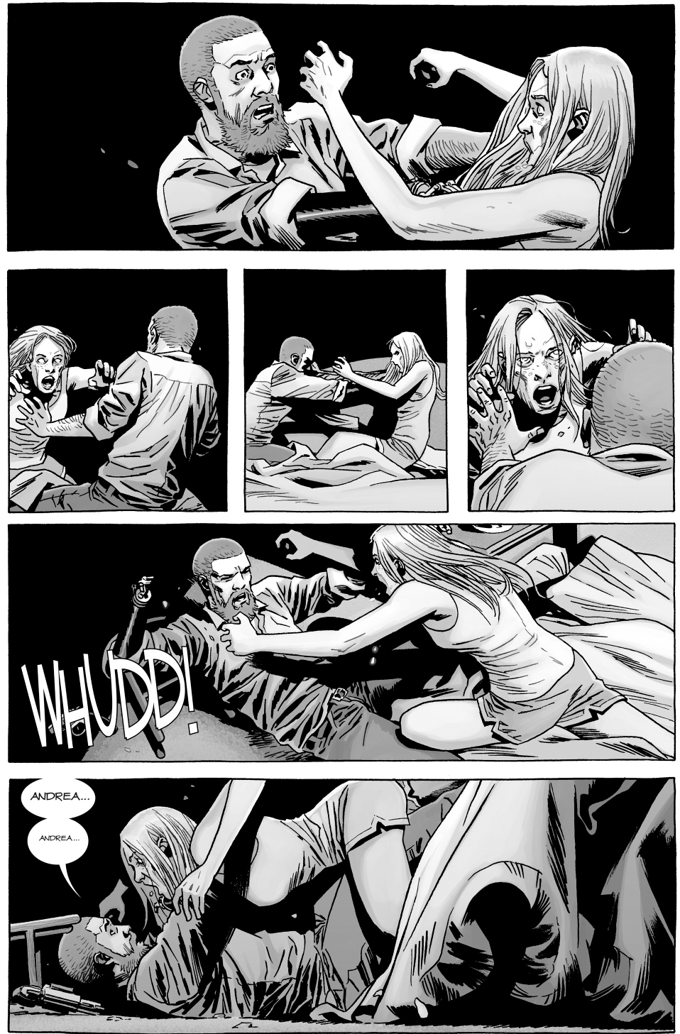 Rick Grimes Kills Andrea (The Walking Dead)