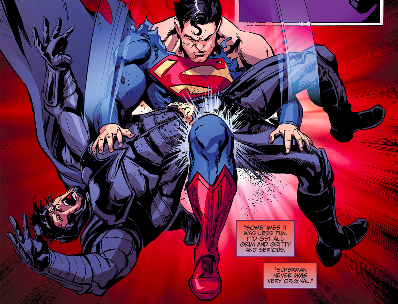 Superman Breaks Batman's Back (Injustice Ground Zero)